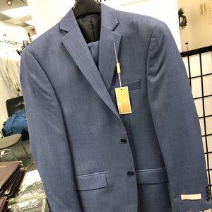 MK blue suit